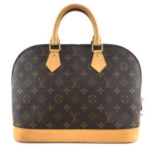 Louis Vuitton Alma Handbag Everyday Hand Tote Bag